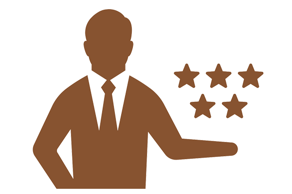 5-star quality local handyman services icon